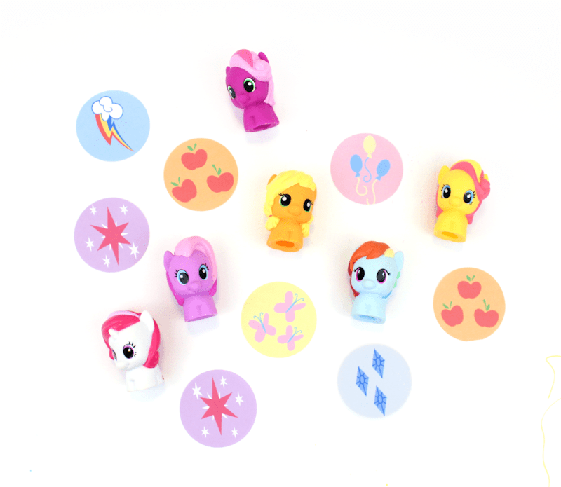 My Little Pony - Printable Cutie Mark Gift Tags