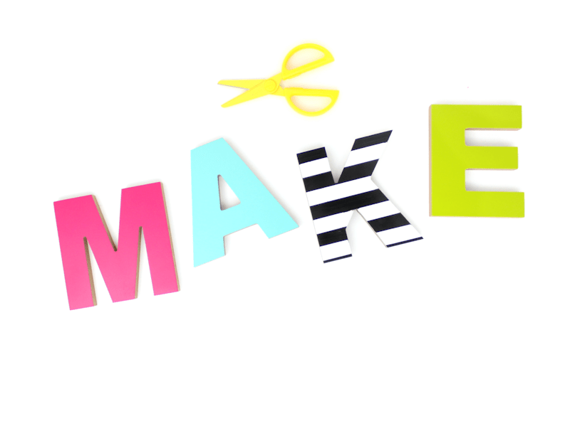 Make - letters #michaelsmakers challenge