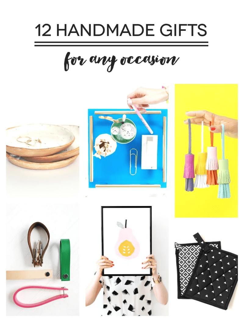 12 Handmade Gifts www.linesacross