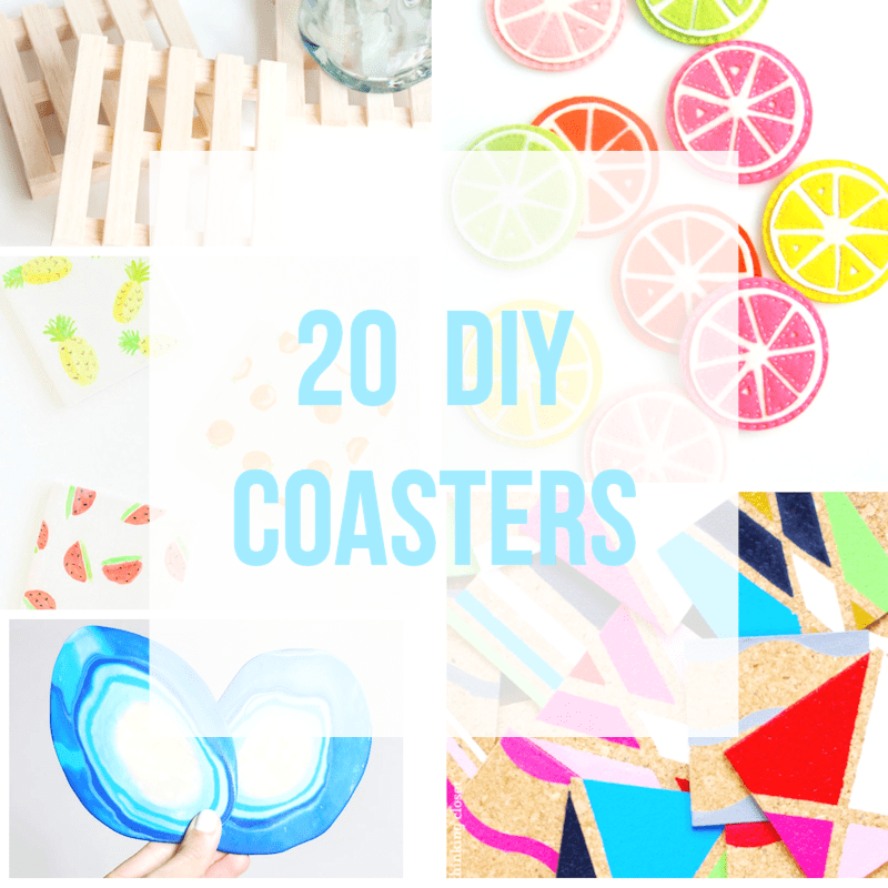 20 Gorgeous DIY Coasters
