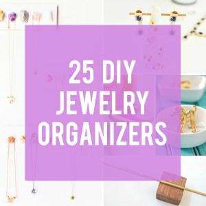 25 DIY Jewelry Organizers