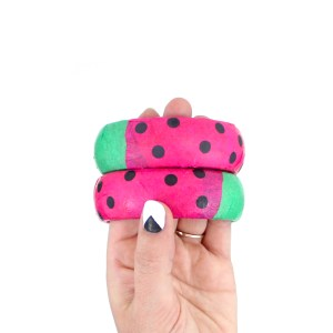 Watermelon DIY Wooden Bracelets