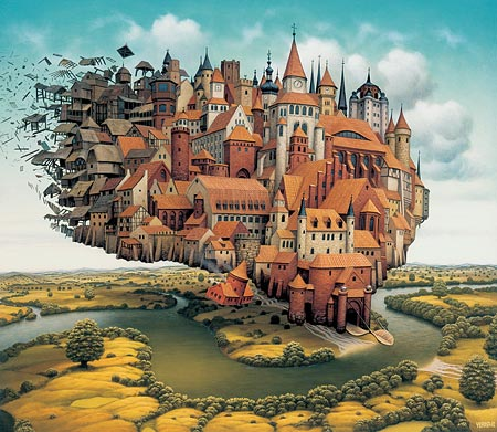 Painting by Jacke Yerka
