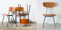 Back to School: Vintage Inspired Chair Design | | Lines We ...