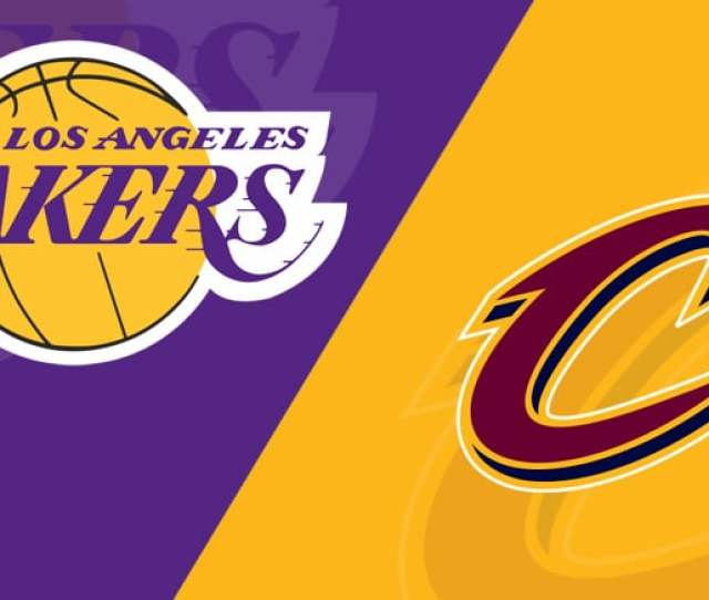 Los Angeles Lakers Vs Cleveland Cavaliers  Starting