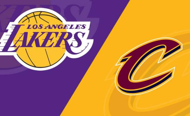 Los Angeles Lakers Vs Cleveland Cavaliers 01 13 19