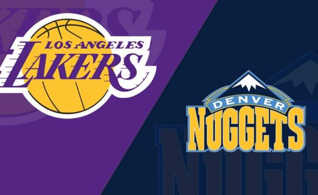 Denver Nuggets At Los Angeles Lakers 3 6 19 Starting