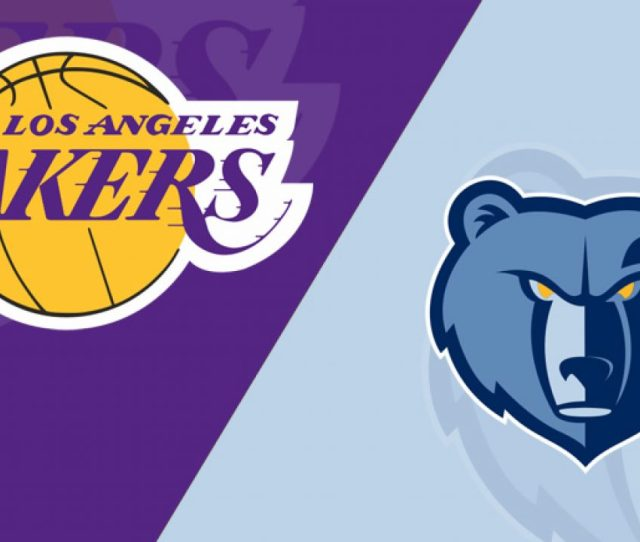 Memphis Grizzlies At Los Angeles Lakers  Starting Lineups