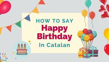 how to say happy birthday in Catalan
