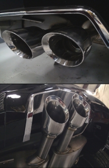 cts v exhaust lingenfelter performance