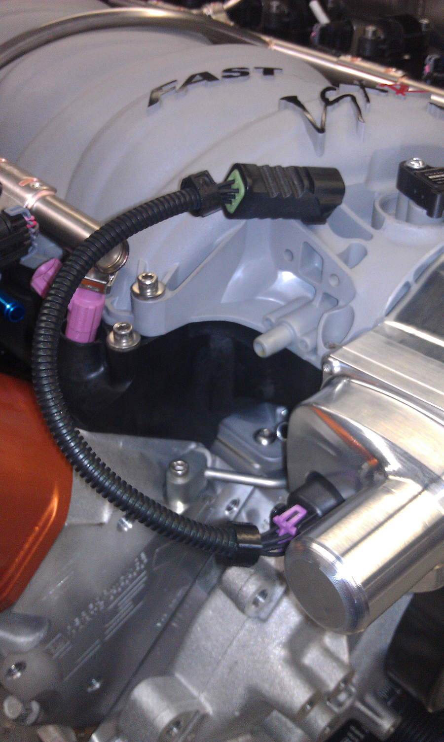 hight resolution of gm ls2 ls3 ls7 lsa ls9 throttle body 12 inch extension harness lingenfelter performance engineering