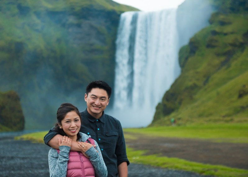 Happily Engaged in Iceland!