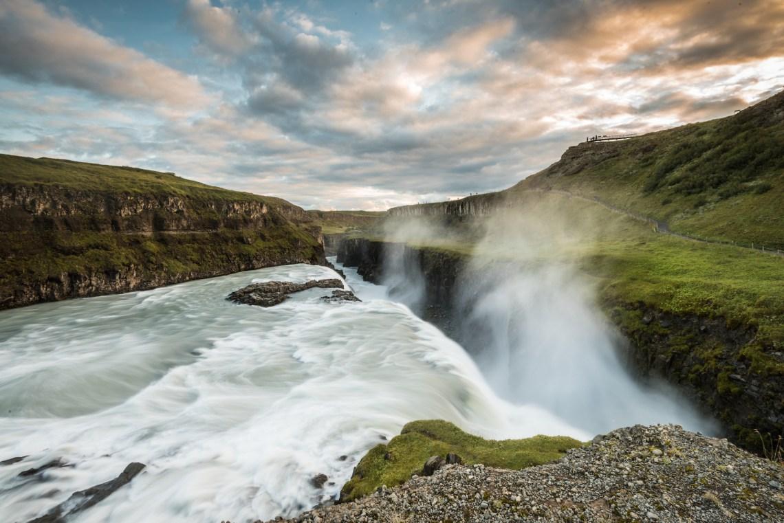 Gullfoss Waterfall: The Golden Falls