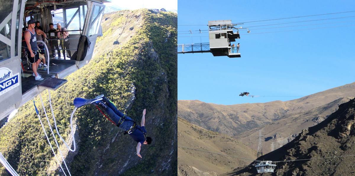 440 Foot Bungy vs. 394 Foot Swing: Which One Would You Do? Nevis Bungy & Swing, New Zealand