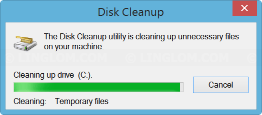Cleaning files on Disk Cleanup