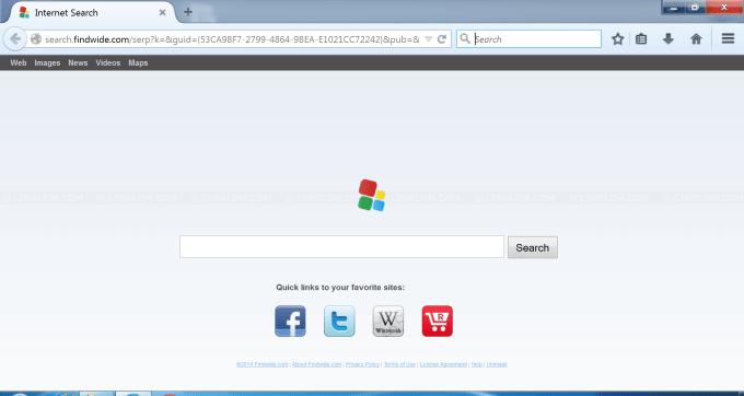 Search.us.com/Search.findwide.com Browser Hijacker