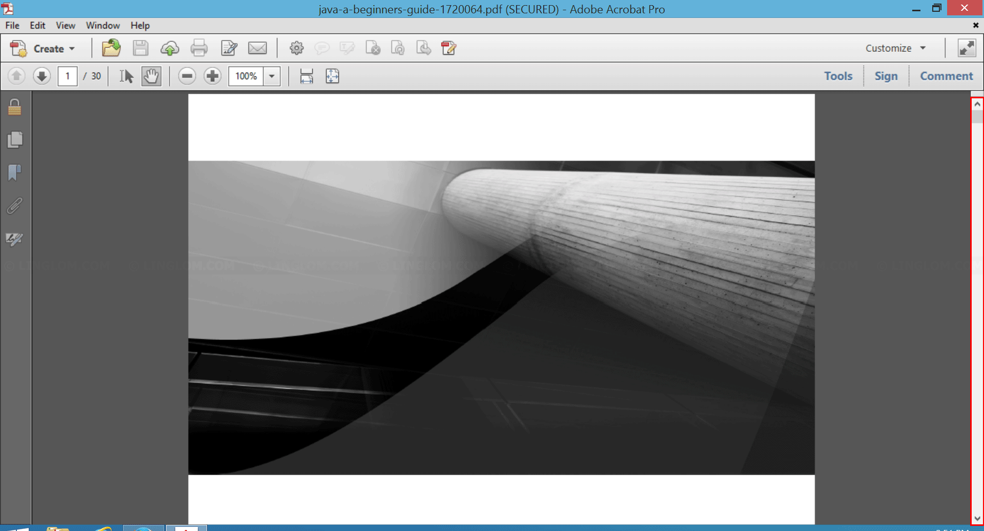 [Solved] No Scroll Bars On Adobe Acrobat XI