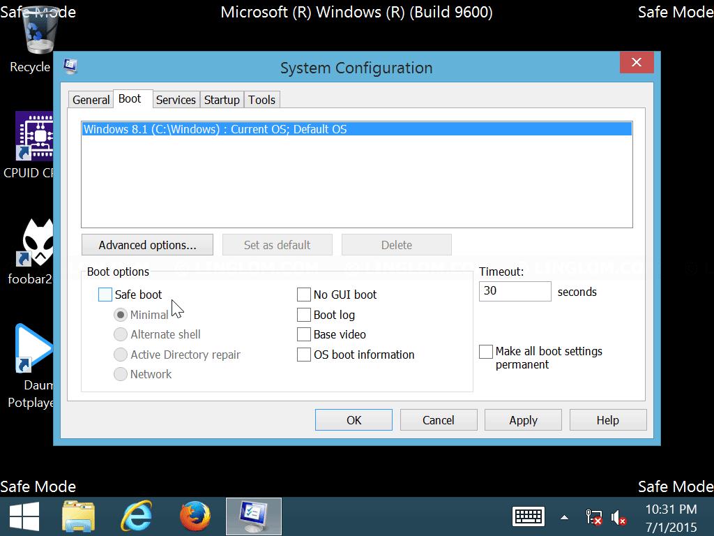 Best backup options for windows