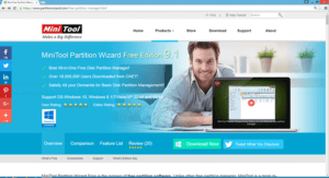 Install MiniTool Partition Wizard