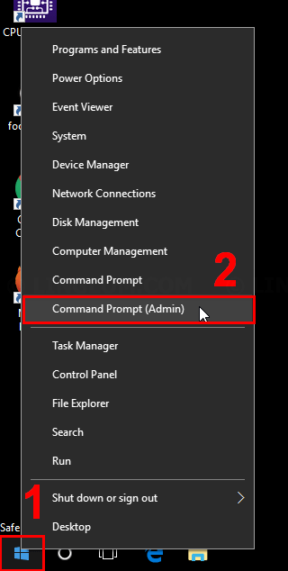 how to start windows in safe mode through command prompt