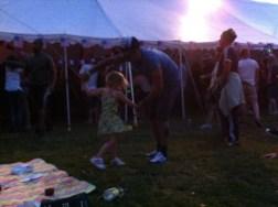 Dad dancing at DATH