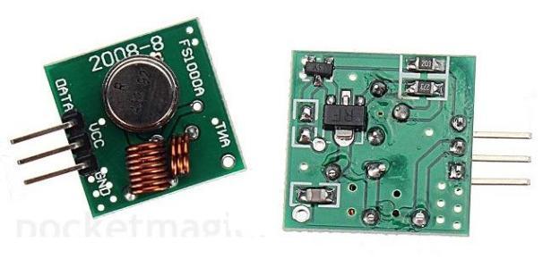 Emissor RF 315 - 433 mhz