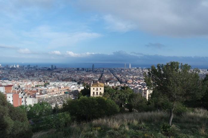 View of Barcelona from Turó de la Rovira