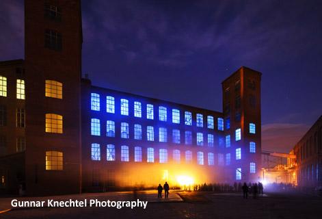 Gunnar Knechtel Photography, Barcelona, Fabra i Coats, 27.12.2013. La Fabra i Coats, la factoría de los Reyes.
