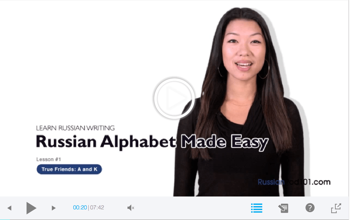 Learn The Russian Alphabet In Under One Hour