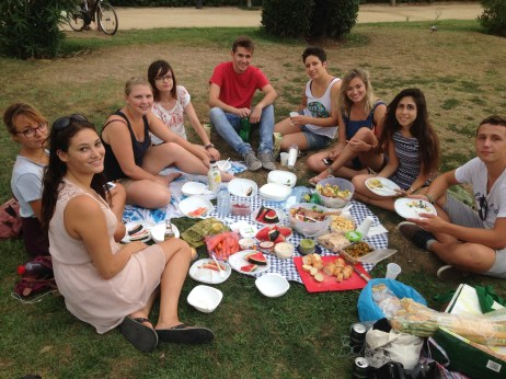 picnic in the parc