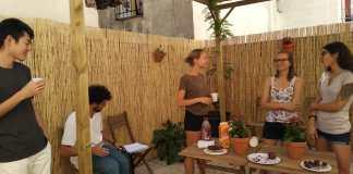 school garden Linguaschools Granada