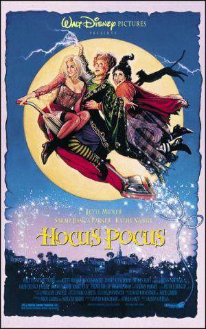 Movie poster de hocus pocus
