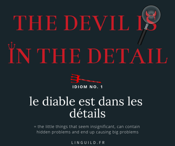 fiche the devil is in the detail