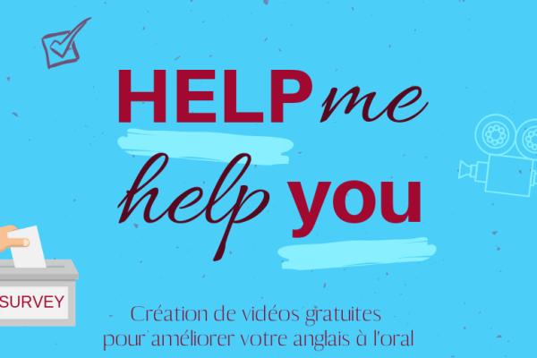 Aidez-moi à vous aider à améliorer votre anglais oral 🗣️
