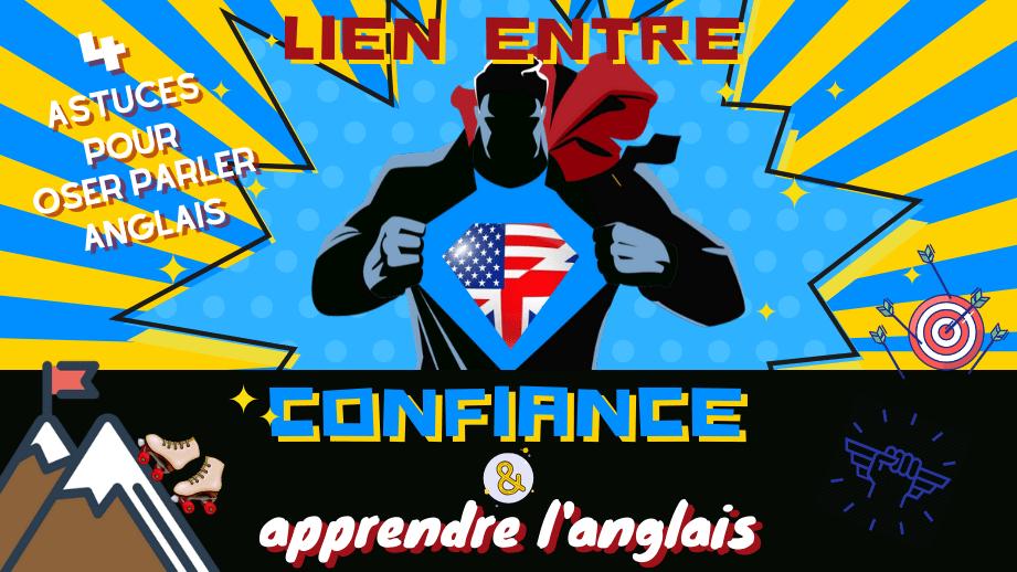 😎 Confiance en soi et parler anglais vont de pair ! 💬