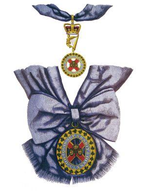 Badge de l'Ordre de Saint Patrick