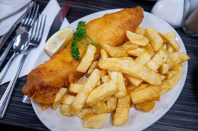Photo du plat anglais fish and chips