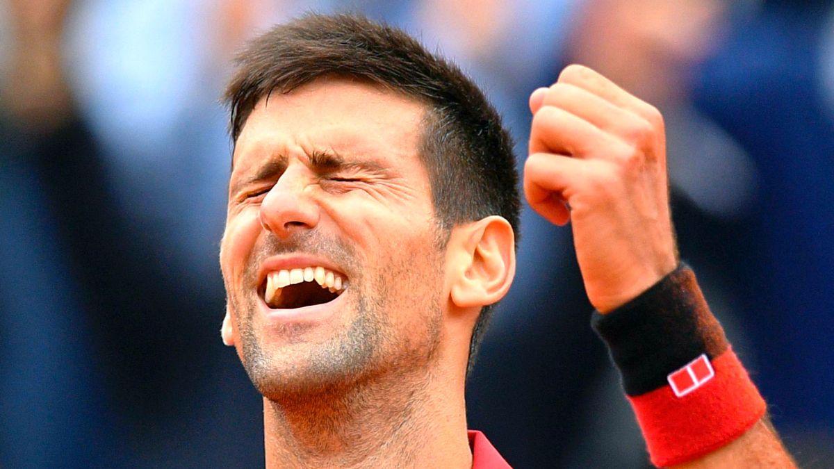 O alívio estava estampado na cara de Novak Djokovic: todo o sacrifício e sofrimento para o título de Roland Garros valeu a pena.