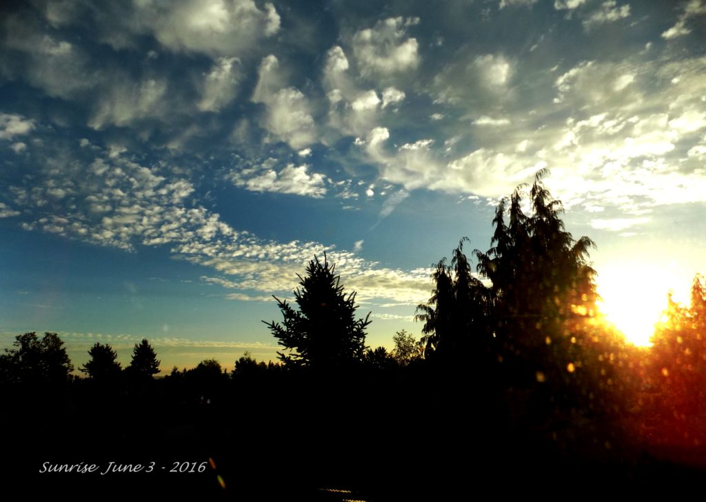 Sunrise June 3 - 2016-5 - A