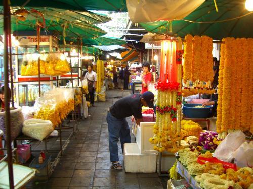 Chợ Hoa Pak Khlong Talat - Bangkok (2)