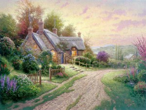 THOMAS KINKADE A Peaceful Time