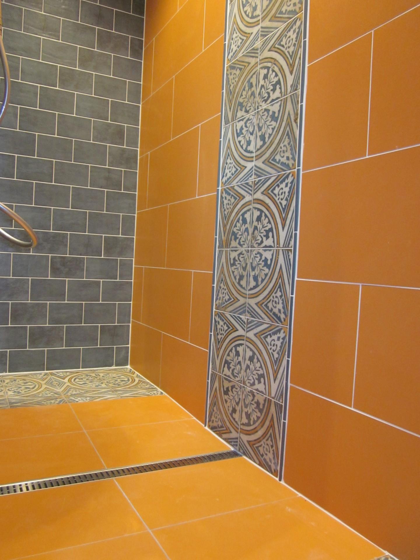 Carrelages et faences pour douche  litalienne  Angers