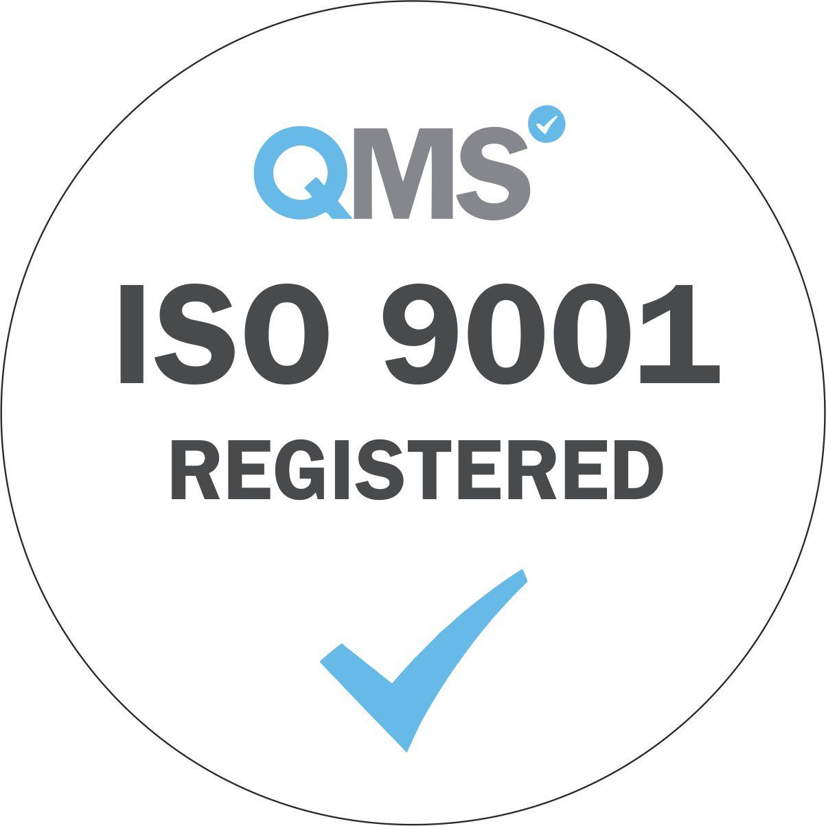 Logo ISO 9001 Registered