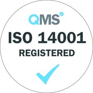 ISO Logo 14001 registered