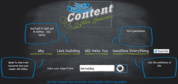20 Awesome Content Creation Tools