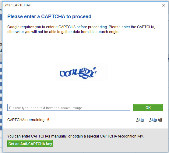 what is captcha seo