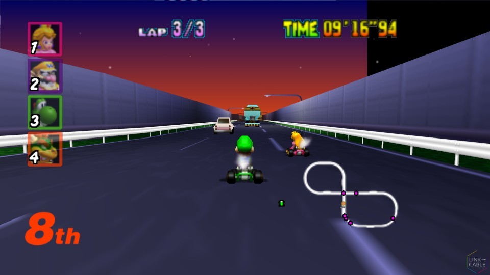 Top 10 Mario Kart Tracks Link Cable
