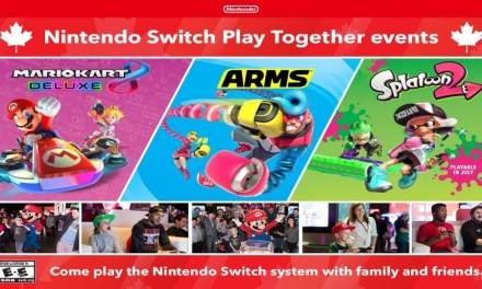 News: Nintendo Switch Play Together Events Dated for Canada