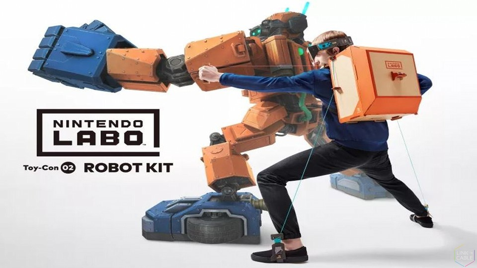 Review nintendo labo toy con 02 robot kit link cable review nintendo labo toy con 02 robot kit solutioingenieria Images