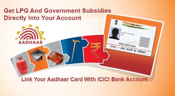 Link Aadhaar Card With ICICI Bank Account